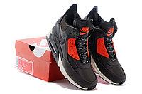 Зимние кроссовки Nike Air Max 90 Sneakerboot Brown Orange (40-45), фото 5