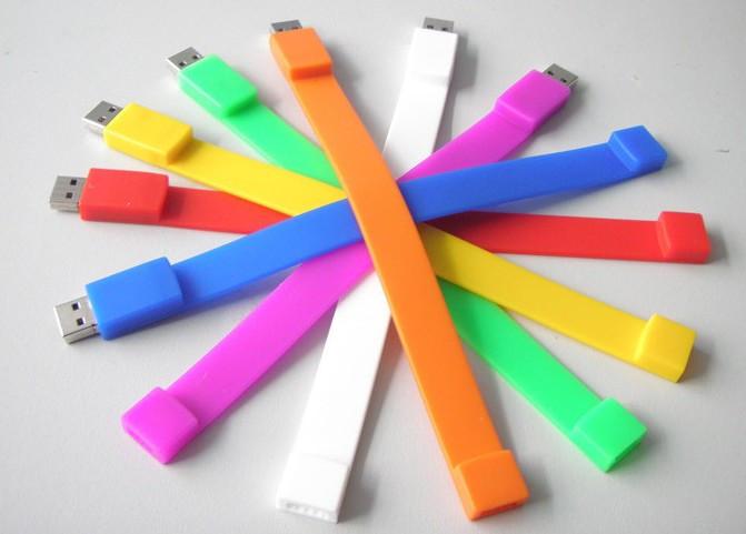 USB Флешка браслет 2, 4, 8, 16, 32, 64 гб. Доставка по РК.