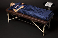 Трех секционное Термоодеяло для салонов красоты и медицинских центров BI 3CF у с опцией свободные руки