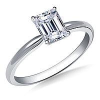 Сертификат GIA 0,21Сt H/VS1 EX Золотое 14K кольцо с бриллиантом