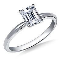 Сертификат GIA 0,21Сt H/VS1 EX Золотое 14K кольцо с бриллиантом , фото 1