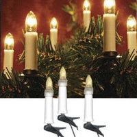 Гирлянда электр.16 свечей на елку 7,5м 410-55