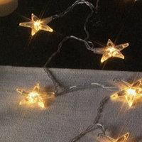 Гирлянда-цепочка 2м электрич. Звезды золотист. 10ламп