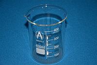Стакан лабораторный низкий Н1-400 мл с делениями, ТС