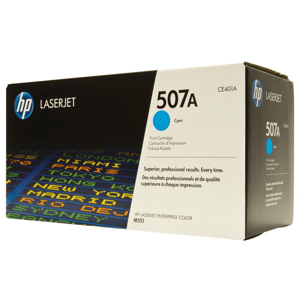 Картридж 507A Cyan HP Cartridge for Color LaserJet 6000 стр