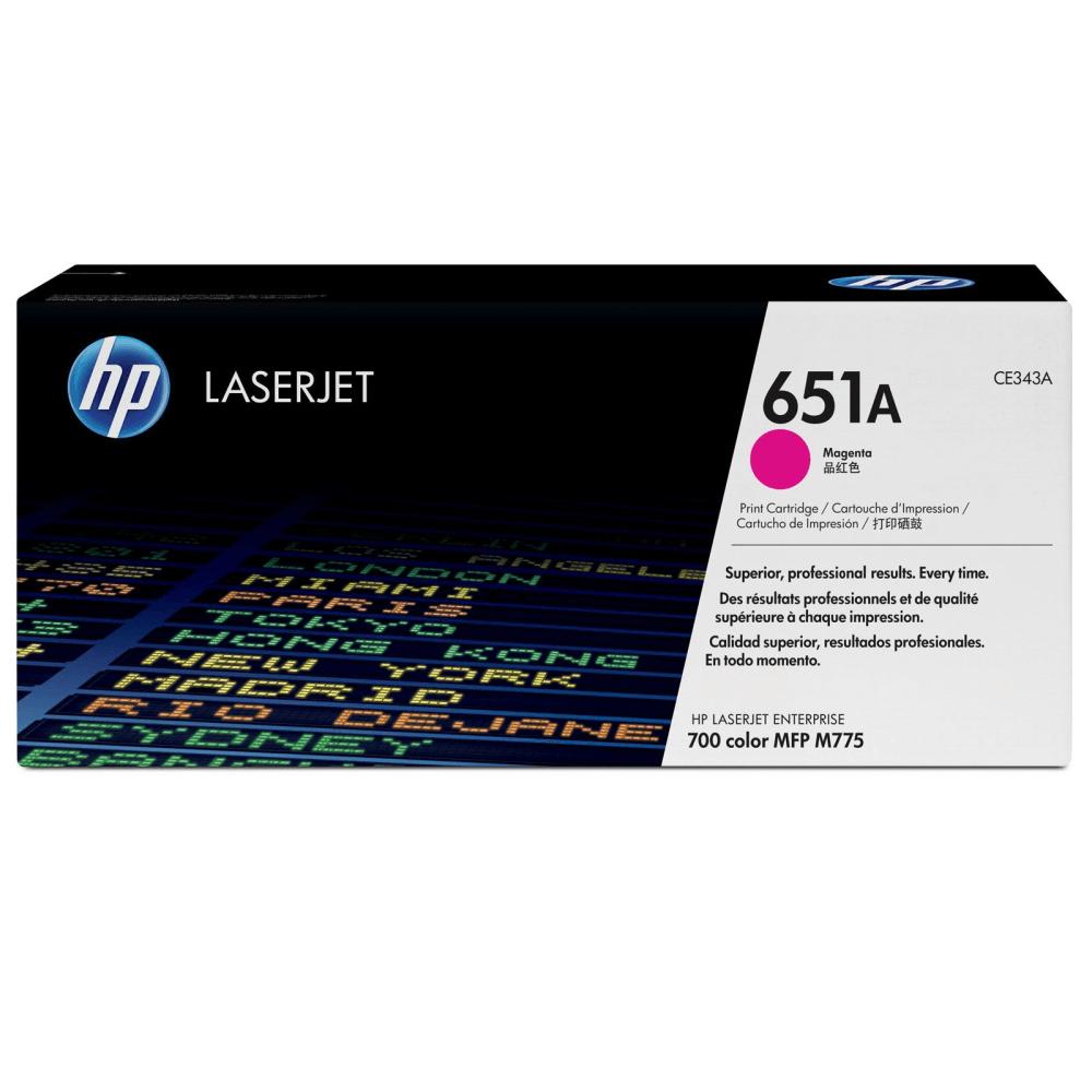 Картридж 651A HP CE343A Magenta LaserJet