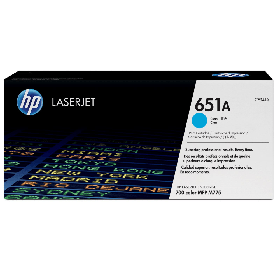 Картридж 651A HP CE341A Cyan LaserJet