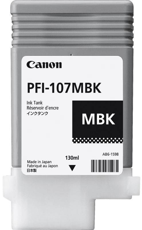 Картридж PFI 107 Matte Black (130 ml) Canon