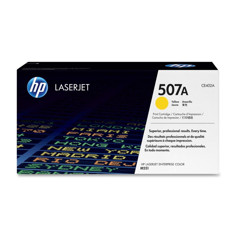 Картридж 507A Yellow HP Cartridge for Color LaserJet 6000 стр