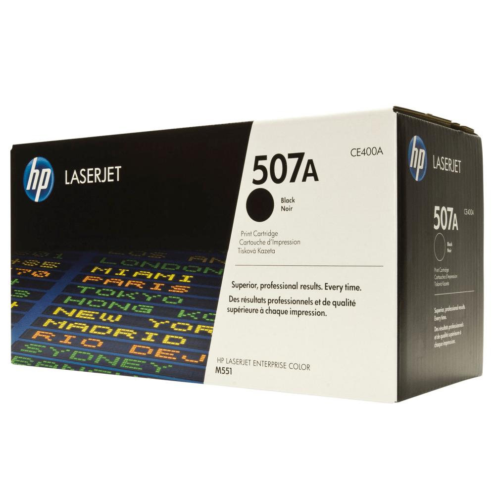 Картридж 507A Black HP Cartridge for Color LaserJet 5500 стр