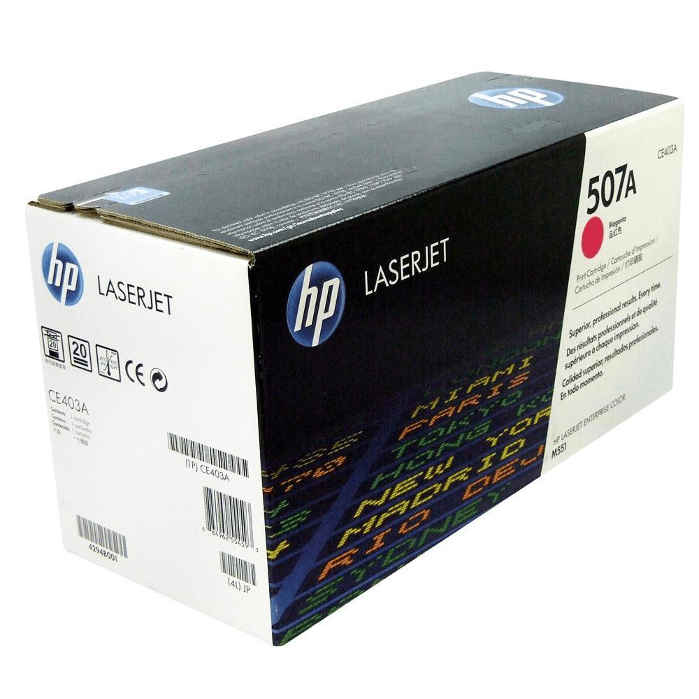 Картридж 507A Magenta HP Cartridge for Color LaserJet 6000 стр