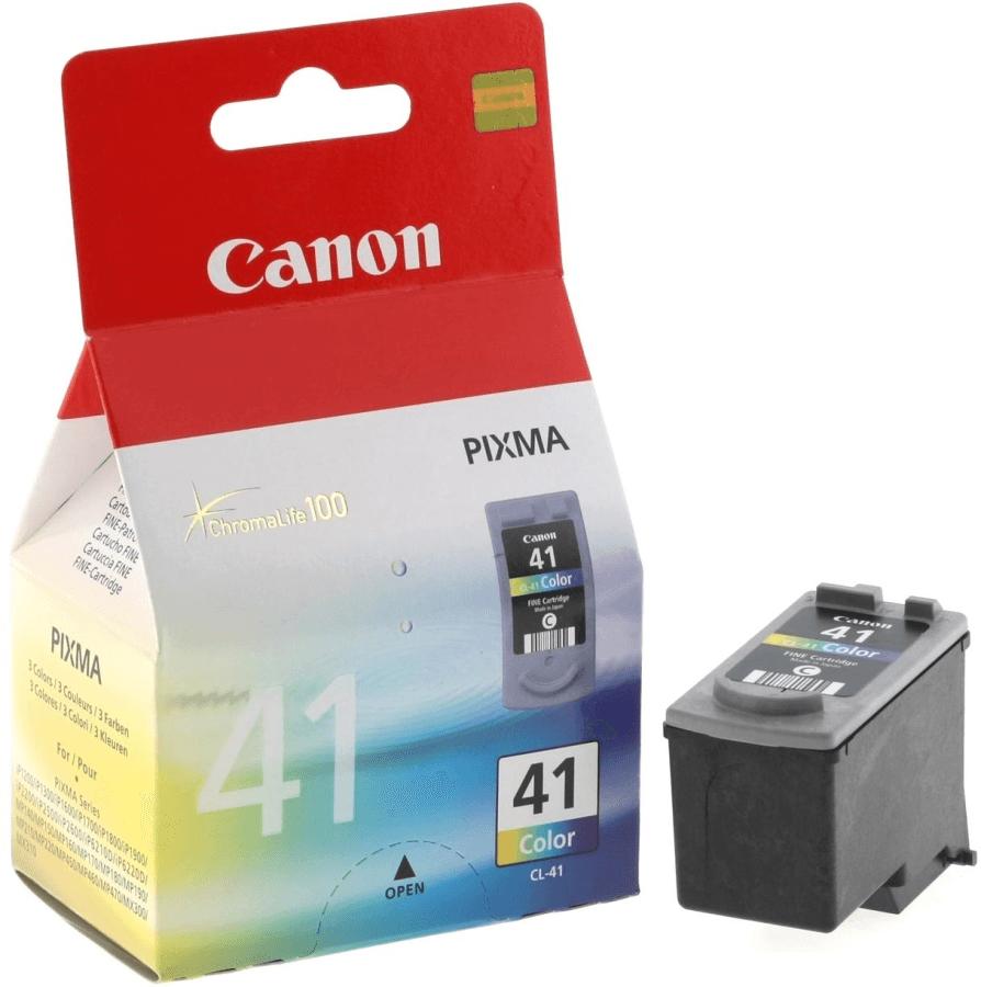 Картридж цветной CL-41 CMY (голубой, пурпурный, жёлтый) Canon