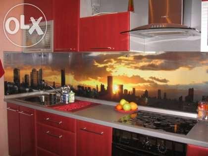 Кухонные фартуки из стекла - фото 6