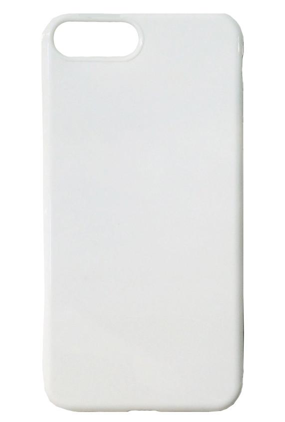 Силиконовый чехол для iPhone 8 Plus (белый)