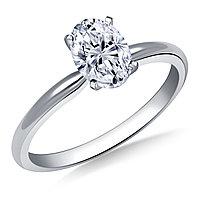 Сертификат GIA 0,30Сt J/VS2 EX Золотое 14K кольцо с бриллиантом
