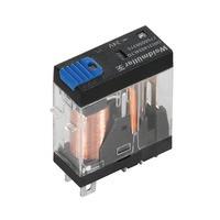 7760056315 DRI314024LTD, Реле + LED+Диод+Кнопка, Количество контактов: 1, Номинальное напряжение: 24 В DC