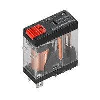 7760056318 DRI314524LT, Реле + LED+Кнопка, Количество контактов: 1, Номинальное напряжение: 24 В AC