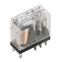 7760056335 DRI424012LD, Реле + LED+Диод, Количество контактов: 2, Номинальное напряжение: 12 В DC