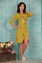 Трикотажное домашнее платье. Россия