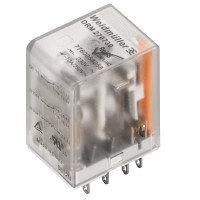 7760056184 DRM270024L AU, Реле + LED+золото, Количество контактов: 2, Номинальное напряжение: 230 В AC