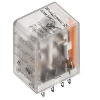 7760056087 DRM570012L, Реле + LED, Количество контактов: 4, Номинальное напряжение: 12 В DC