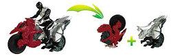 Могучие рейнджеры мотоцикл +12 см фигурка в ассортименте