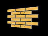 Фасадная панель - шамотный кирпич, фото 3