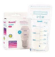 Стерильные пакеты для заморозки и хранения грудного молока Ramili Breastmilk Bags, фото 1