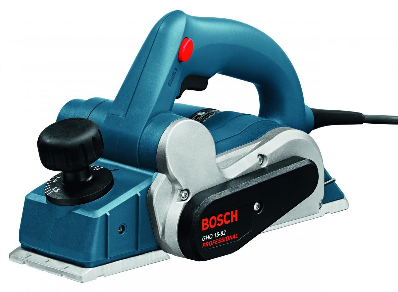 Рубанок электрический bosch GHO 15-82  0601594003