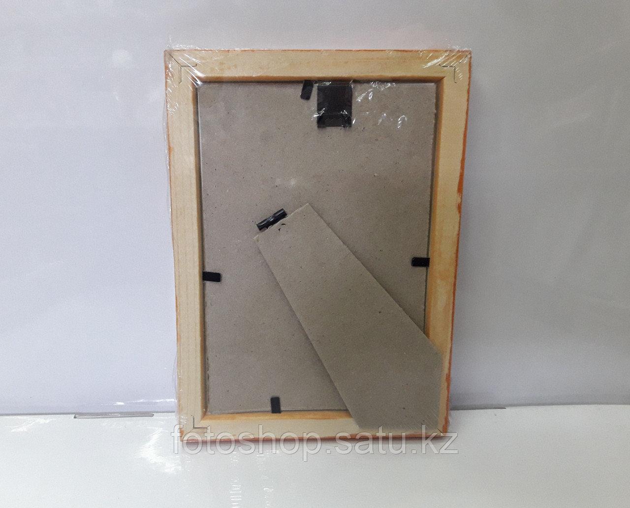 Фоторамка деревянная со стеклом 10*15 - фото 3