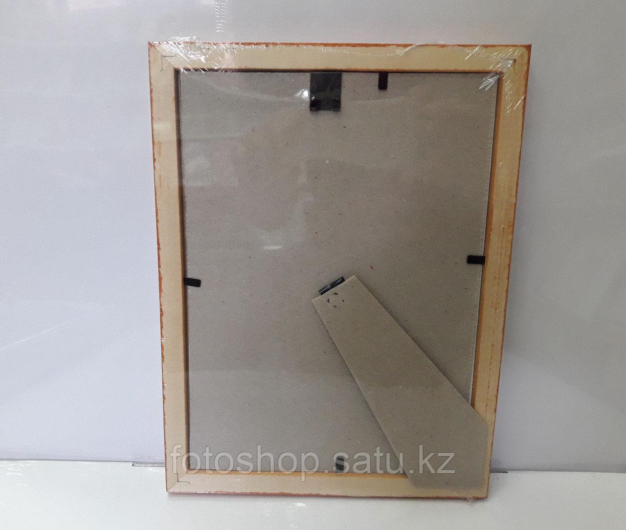 Фоторамка деревянная со стеклом 15*21 - фото 3