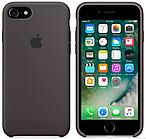 Cиликоновый чехол для iPhone 7 (темное какао)
