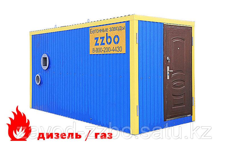 Газовый теплогенератор ТГВ-250 в блок - контейнере
