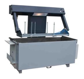 Carmec PTR 1600L - стенд для проверки герметичности