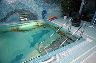 Лестницы и мостики для бассейна из нержавеющей стали