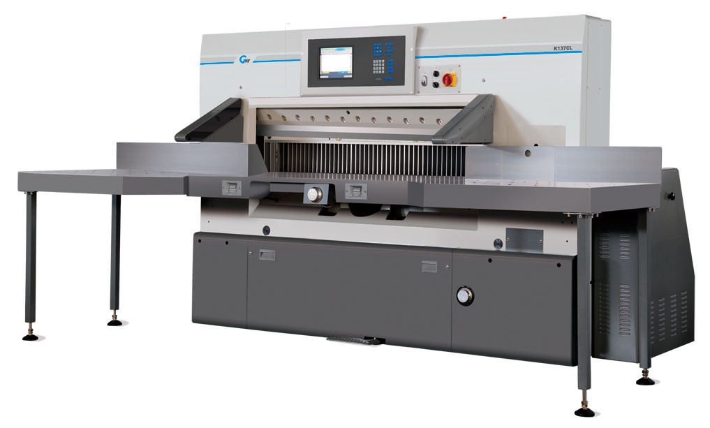 Резательная машина для бумаги Guowang Mastercut K-176L (1760 мм)