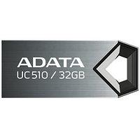 "USB-флеш-накопитель ""A-DATA  USB Dash Drive 2.0    32GB  M:UC510 Titanium"""