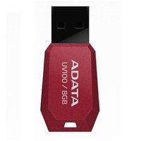 "USB-флеш-накопитель ""A-DATA  USB Dash Drive 2.0       8GB  Slim Bevelled  M:UV100 Red"""