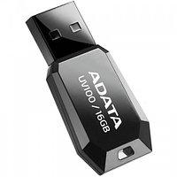 "USB-флеш-накопитель ""A-DATA  USB Dash Drive 2.0       16GB  Slim Bevelled  M:UV100 Black"""