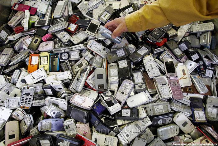 Утилизация мобильных, радиотелефонов с выплатой