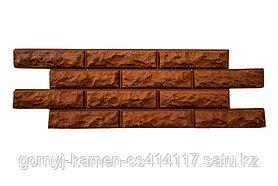 Фасадная панель - каменный кирпич