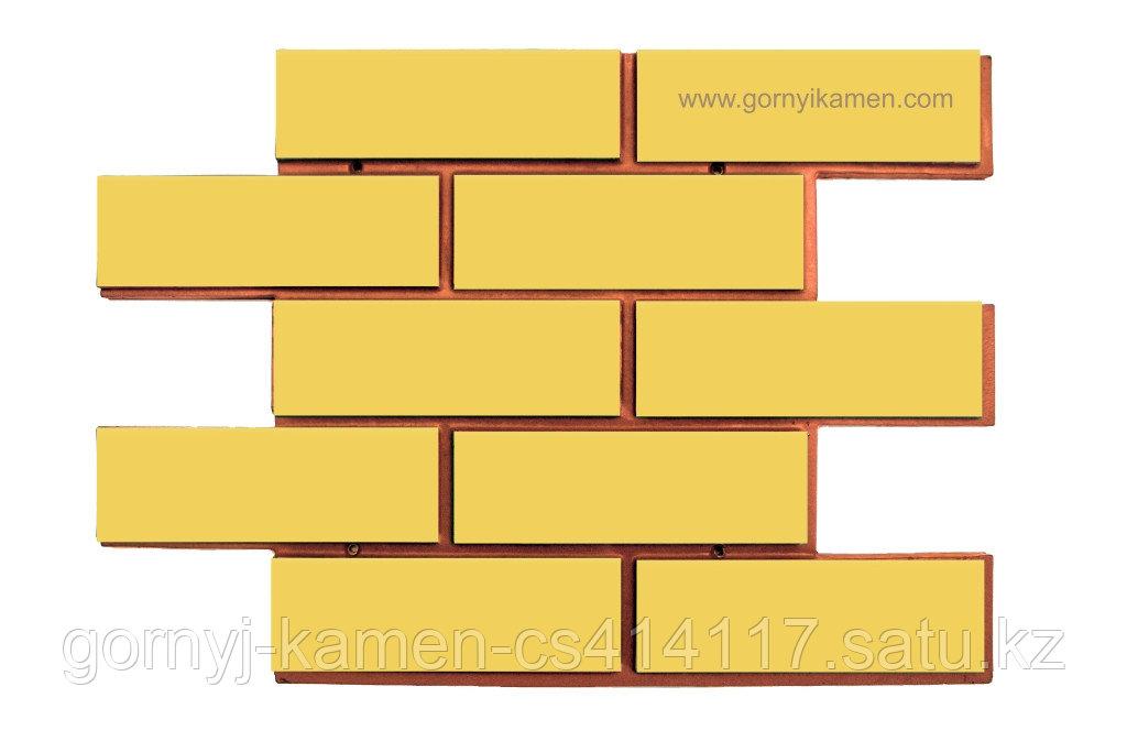 Фасадная панель - широкий кирпич
