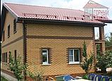 Фасадная панель - широкий кирпич в цвете, фото 3