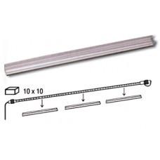 Профиль защитный для кабеля гирлянд 25см 10шт/уп 065-02