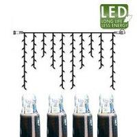 Гирлянда холоднобелая доп Дождь 2х1м 100диодов LED 465-38