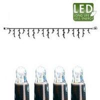Гирлянда холоднобелая доп Дождь 3х0,4м 50диодов LED 465-48