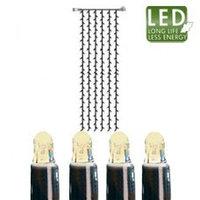 Гирлянда-занавес теплобел доп 1х4м 204диода LED 465-56-14