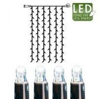Гирлянда-занавес холоднобел доп 1х2м 102диода LED 465-58