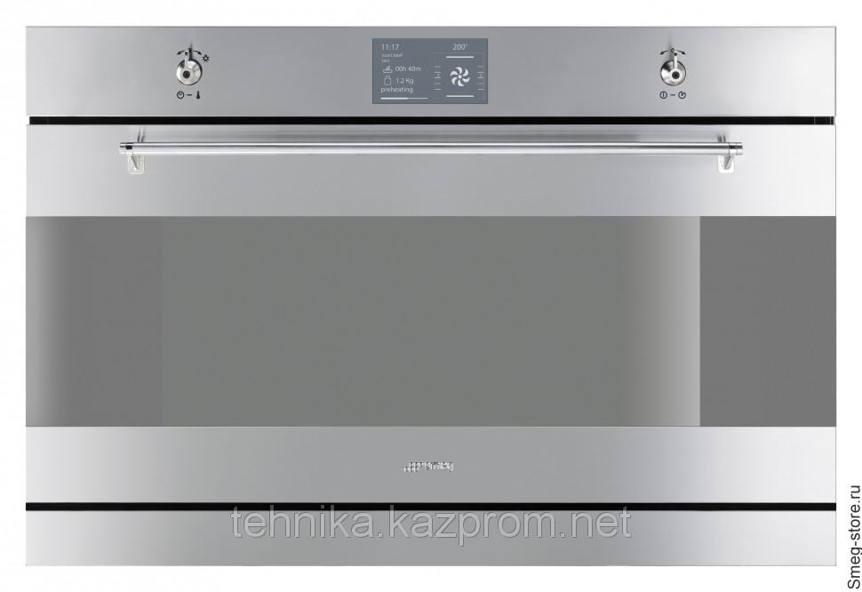 Встраиваемая духовка Smeg SFP3900X