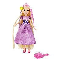 Hasbro Disney Princess Рапунцель с длинными волосами и аксессуарами
